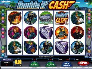 machine a sous double o cash